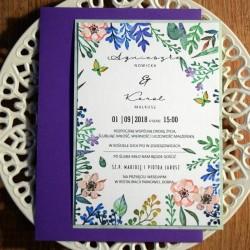 Kwiatowe zaproszenie